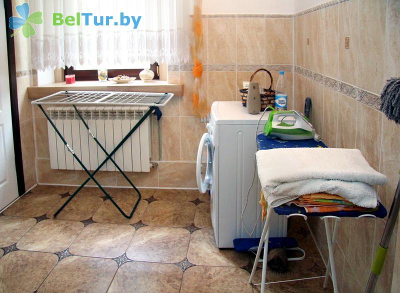 Отдых в Белоруссии Беларуси - усадьба Беловежская гостевая - Прачечная самообслуживания