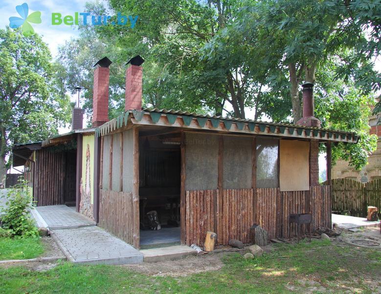 Отдых в Белоруссии Беларуси - усадьба Беловежская гостевая - Беседка