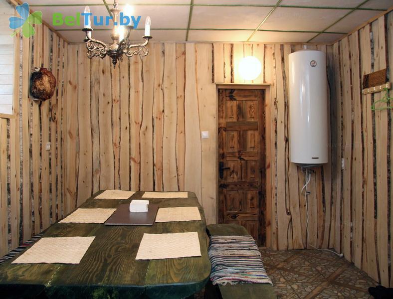 Отдых в Белоруссии Беларуси - усадьба Беловежская гостевая - Баня русская