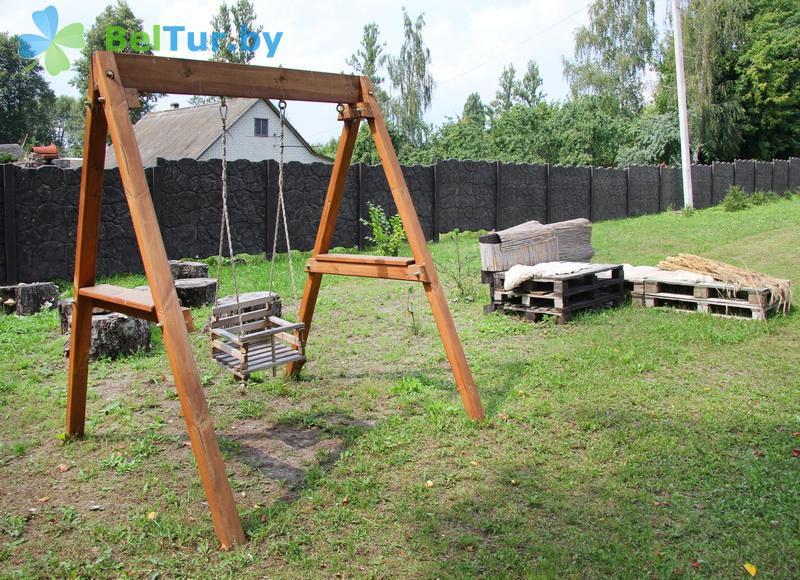 Отдых в Белоруссии Беларуси - усадьба Беловежская гостевая - Детская площадка