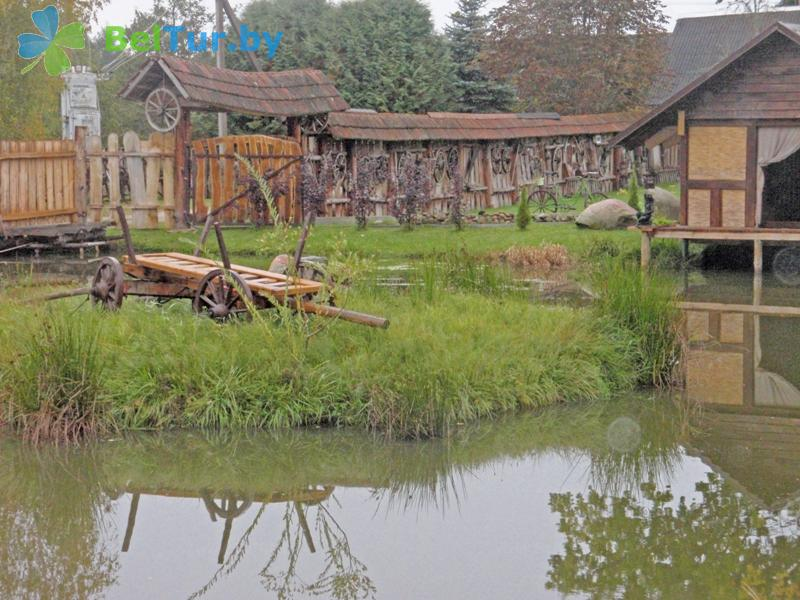 Адпачынак у Беларусі - сядзіба Блакітныя азёры - Вадаём