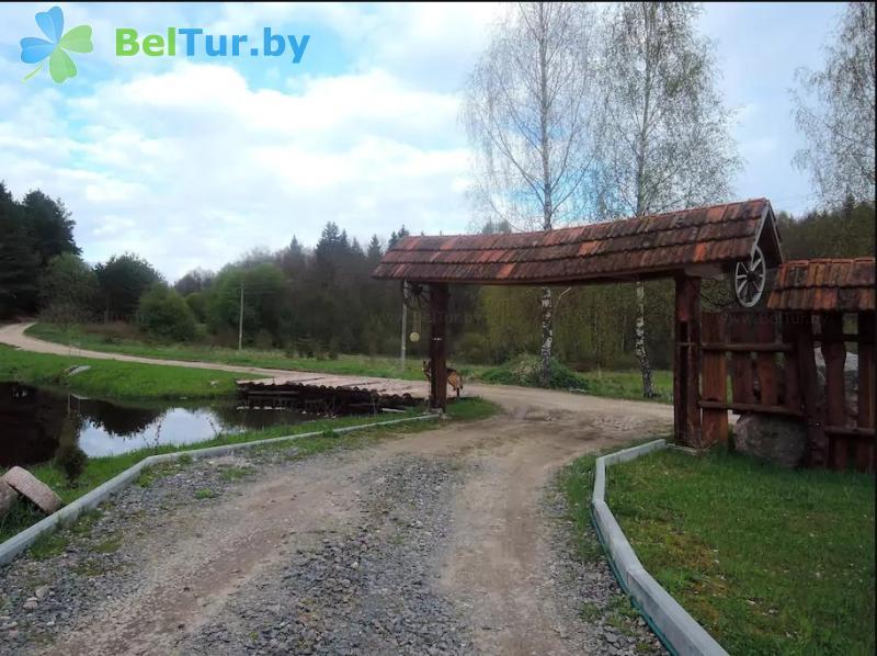Отдых в Белоруссии Беларуси - усадьба Голубые озера - Территория и природа