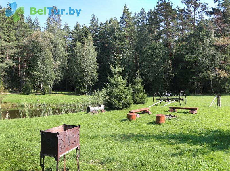 Отдых в Белоруссии Беларуси - усадьба Викинг - Площадка для шашлыков