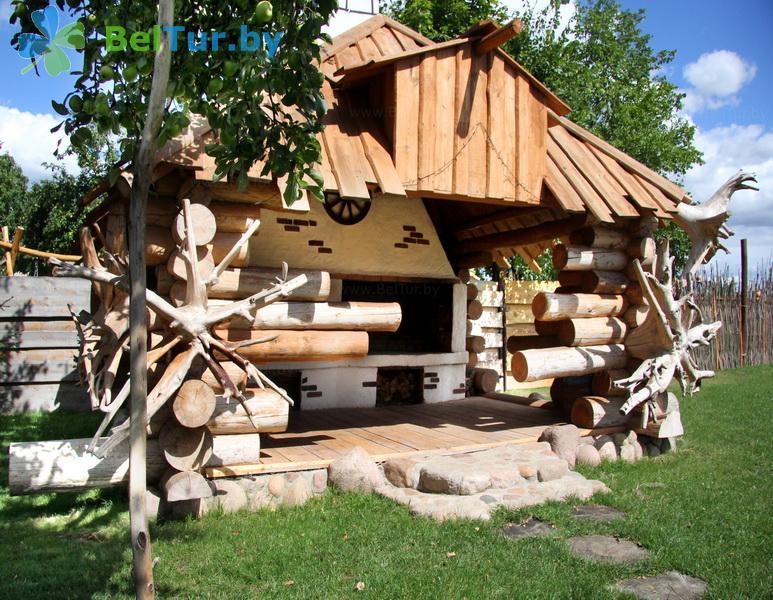 Отдых в Белоруссии Беларуси - усадьба Весёлая хата - Беседка