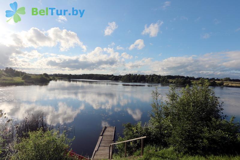 Отдых в Белоруссии Беларуси - усадьба Василевских - Пляж
