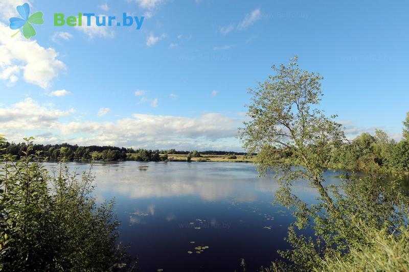 Отдых в Белоруссии Беларуси - усадьба Василевских - Водоём
