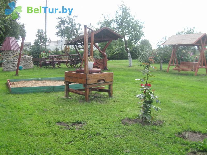 Отдых в Белоруссии Беларуси - усадьба Василевских - Детская площадка