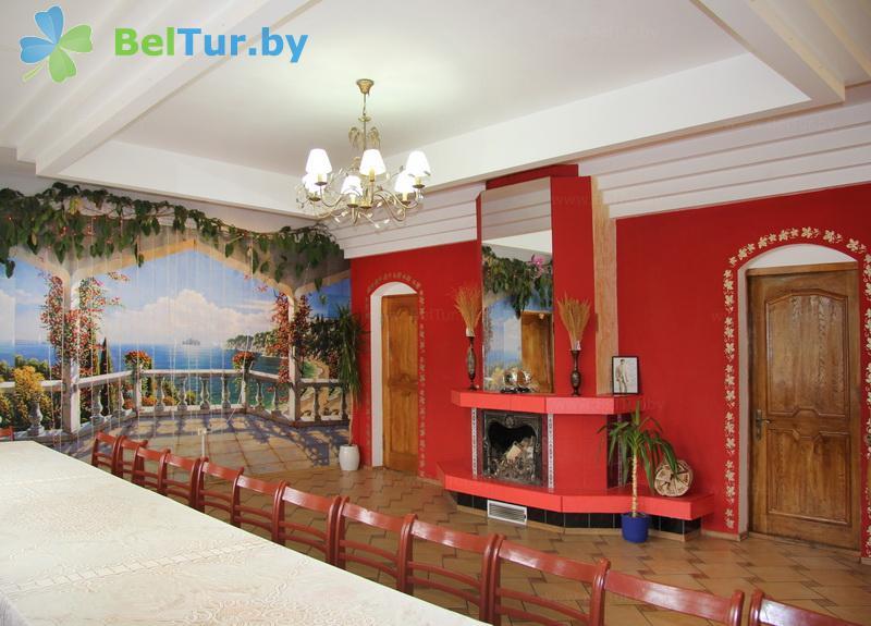 Отдых в Белоруссии Беларуси - усадьба Домашний очаг - Банкетный зал