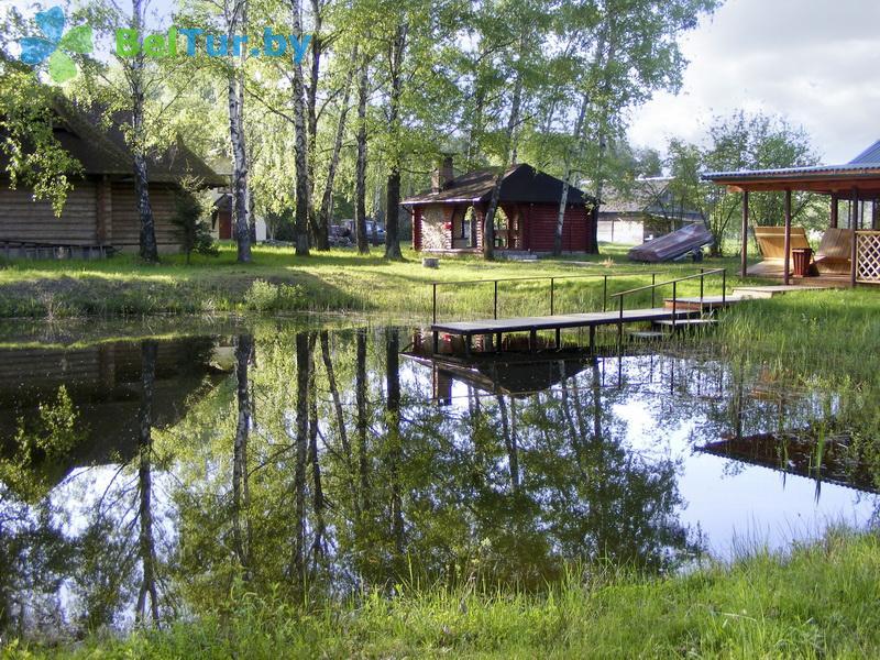 Отдых в Белоруссии Беларуси - усадьба Заезд Зубачи - Территория и природа
