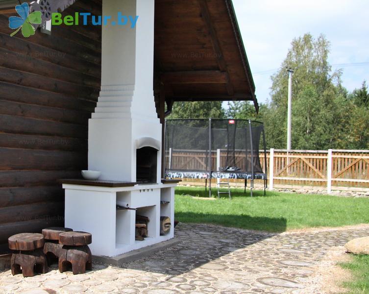 Отдых в Белоруссии Беларуси - усадьба Асавы - Площадка для шашлыков