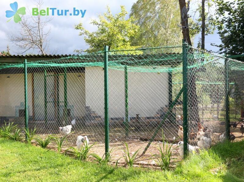 Отдых в Белоруссии Беларуси - усадьба Вилейская околица - Вольер