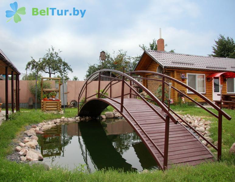 Отдых в Белоруссии Беларуси - усадьба Каменная горка - Территория и природа