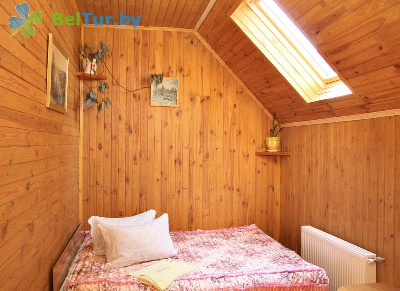 Отдых в Белоруссии Беларуси - усадьба Каменецкое затишье - двухместный / с двуспальной кроватью (дом)