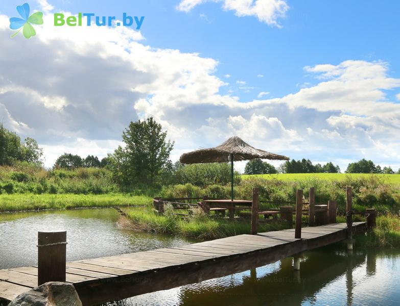 Отдых в Белоруссии Беларуси - усадьба Респект Хаус / Respect House - Беседка