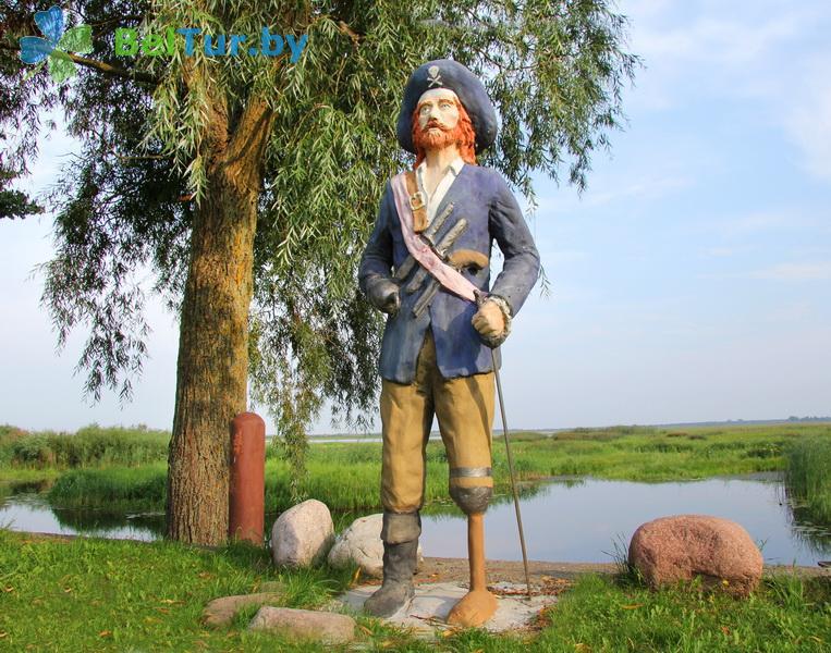 Отдых в Белоруссии Беларуси - усадьба Споровская - Территория и природа