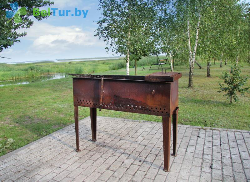 Отдых в Белоруссии Беларуси - усадьба Споровская - Площадка для шашлыков