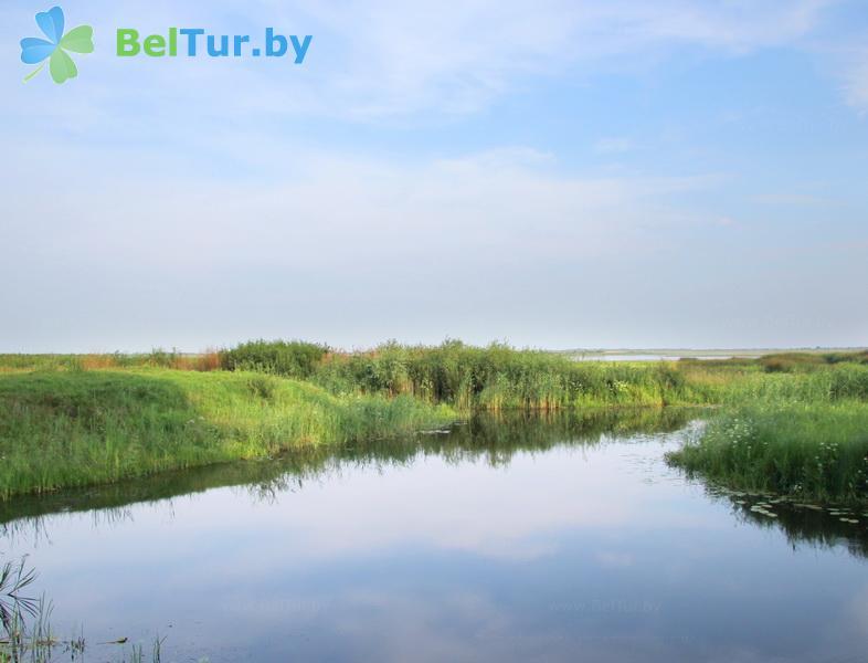 Отдых в Белоруссии Беларуси - усадьба Споровская - Водоём