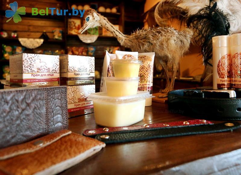 Отдых в Белоруссии Беларуси - усадьба Слуцкий страус - Кафе