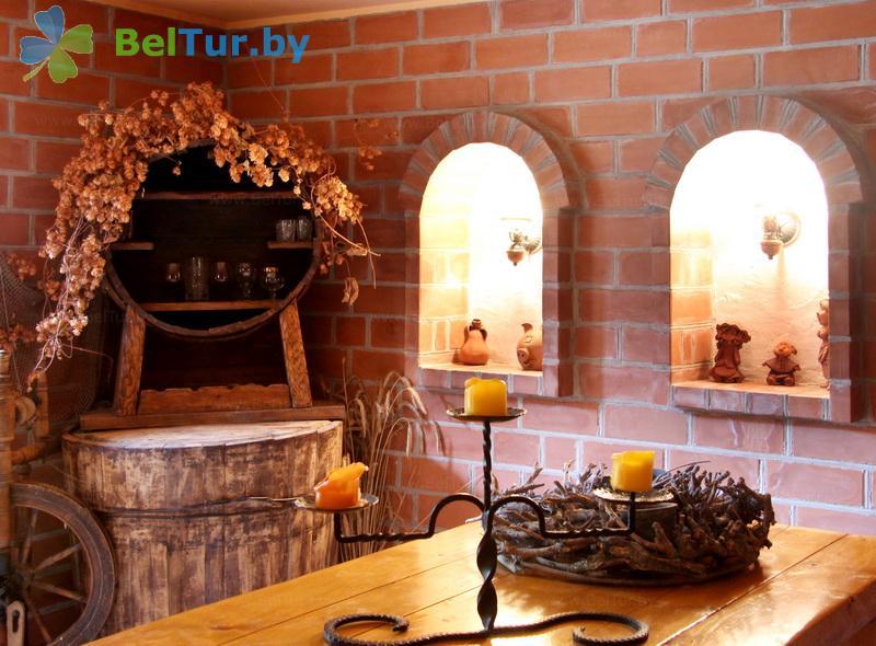 Отдых в Белоруссии Беларуси - усадьба Над Неманам - Банкетный зал
