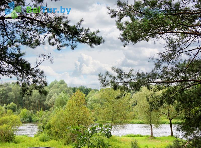 Отдых в Белоруссии Беларуси - усадьба Над Неманам - Водоём