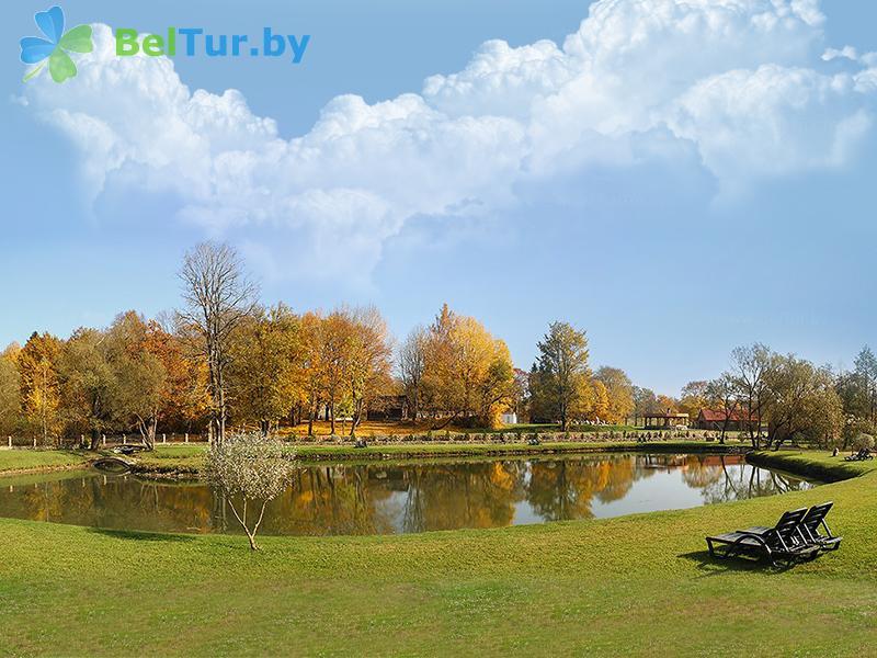 Отдых в Белоруссии Беларуси - гостиничный комплекс Панский маентак Сула - Водоём