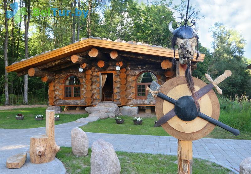 Отдых в Белоруссии Беларуси - гостиничный комплекс Панский маентак Сула - дом викинга