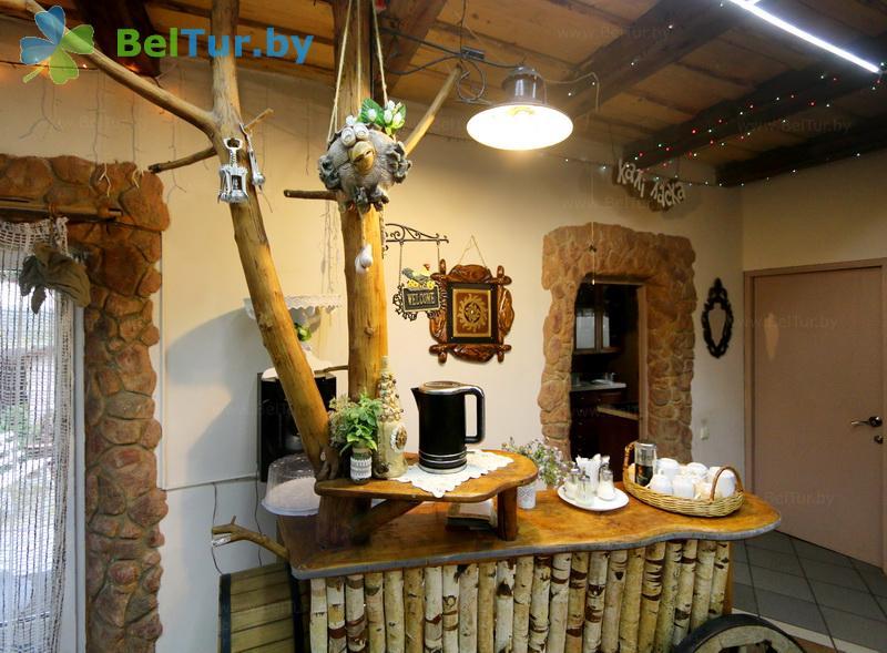 Отдых в Белоруссии Беларуси - усадьба Заречаны - Банкетный зал