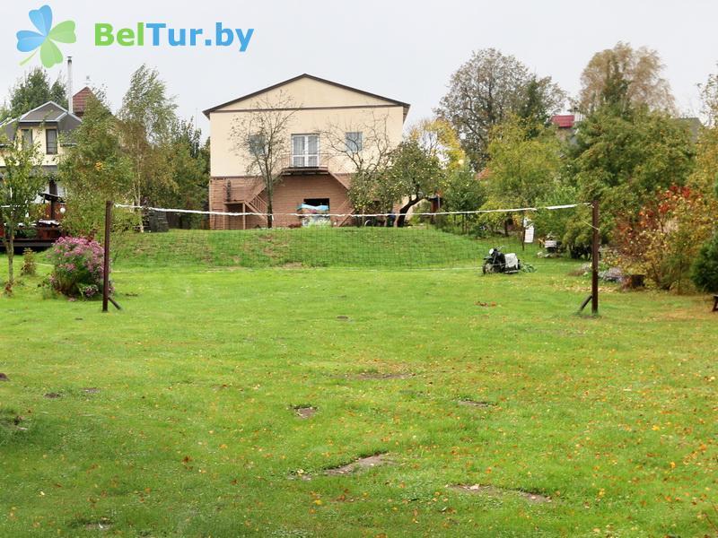 Отдых в Белоруссии Беларуси - усадьба Заречаны - Спортплощадка