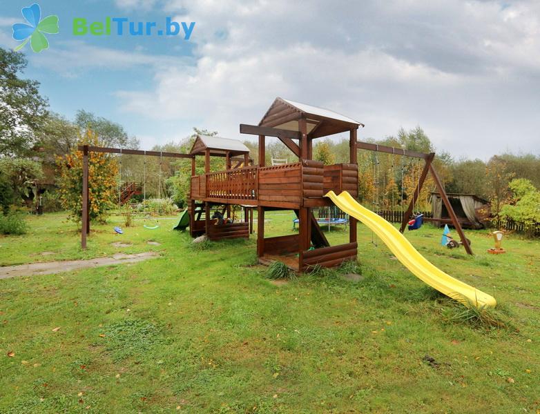 Отдых в Белоруссии Беларуси - усадьба Заречаны - Детская площадка