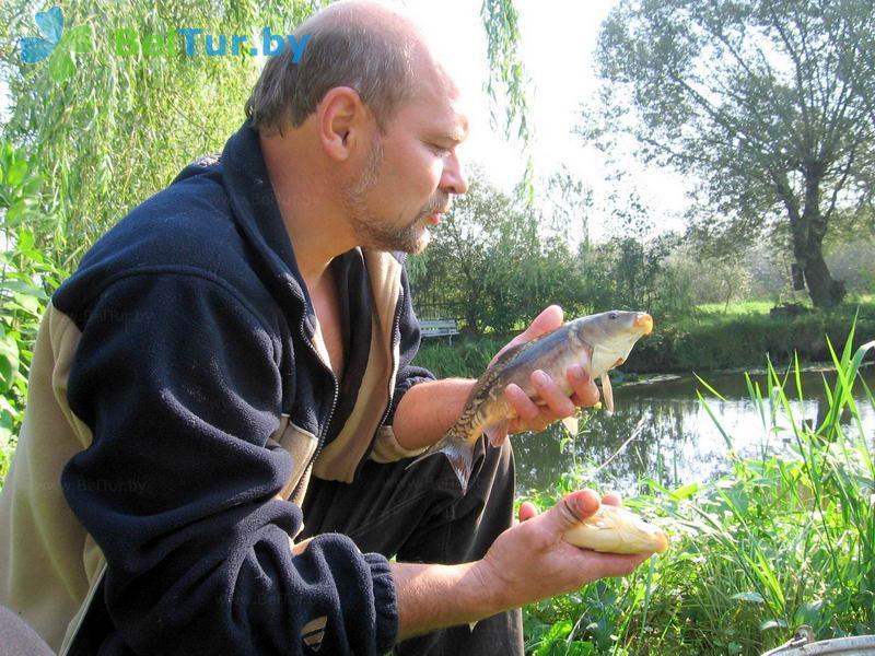 Отдых в Белоруссии Беларуси - усадьба Заречаны - Рыбалка