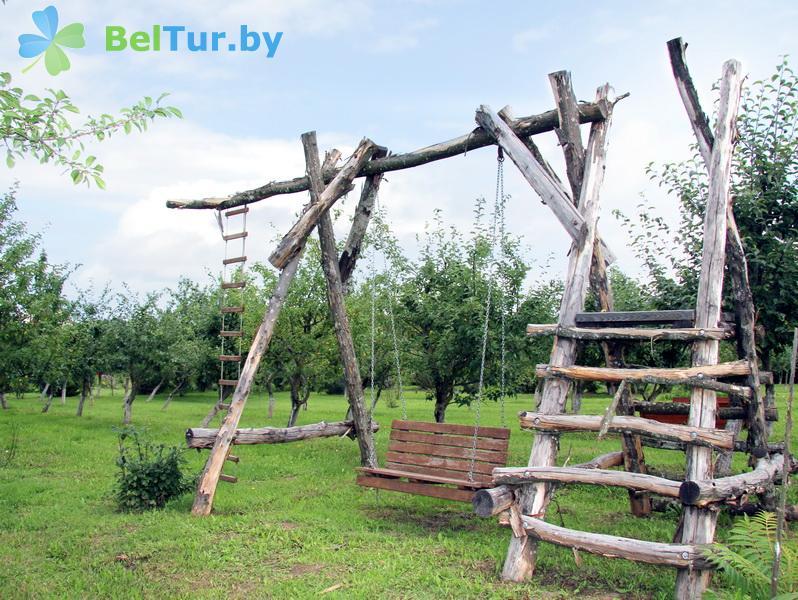 Отдых в Белоруссии Беларуси - усадьба Верес - Детская площадка