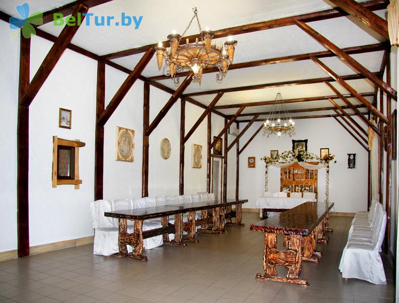 Отдых в Белоруссии Беларуси - усадьба Верес - Банкетный зал