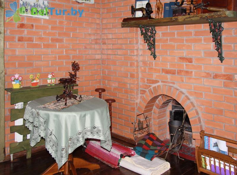 Отдых в Белоруссии Беларуси - усадьба Верес - дом (10 человек) (дом №1)