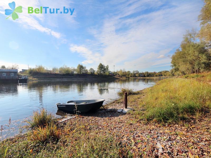 Отдых в Белоруссии Беларуси - усадьба Бычок - Прокат лодок