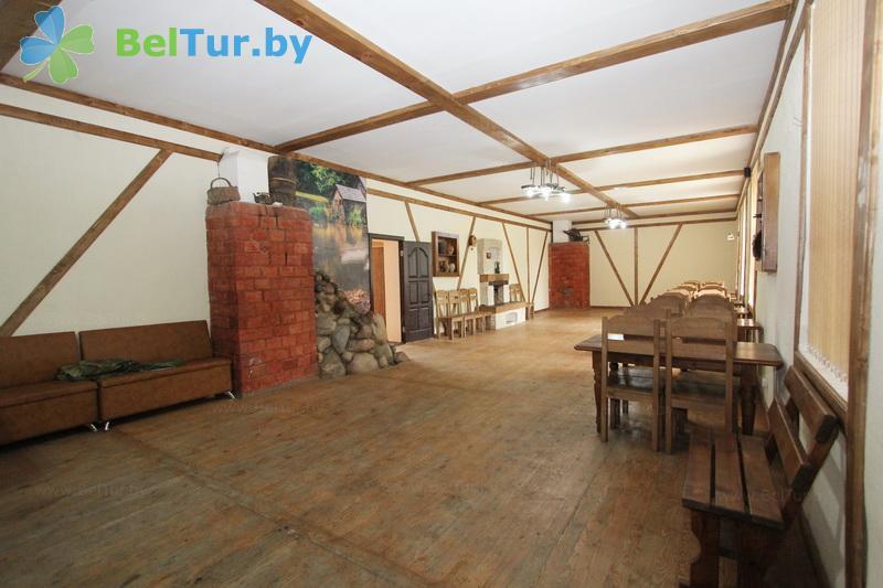 Отдых в Белоруссии Беларуси - база отдыха Березовый двор - Кафе