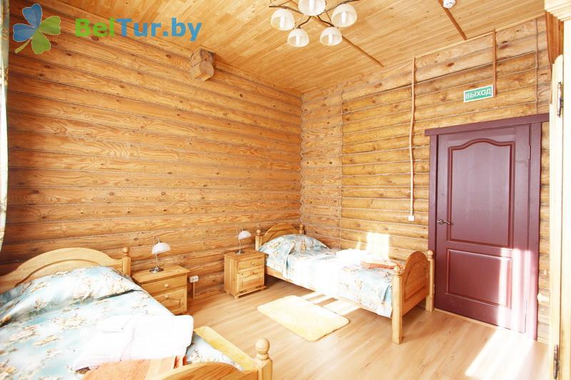 Отдых в Белоруссии Беларуси - туристический комплекс Сосновая - двухместный однокомнатный (гостевой дом №4)