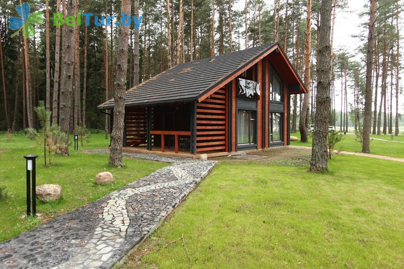 Отдых в Белоруссии Беларуси - туристический комплекс Шишки - домик VIP