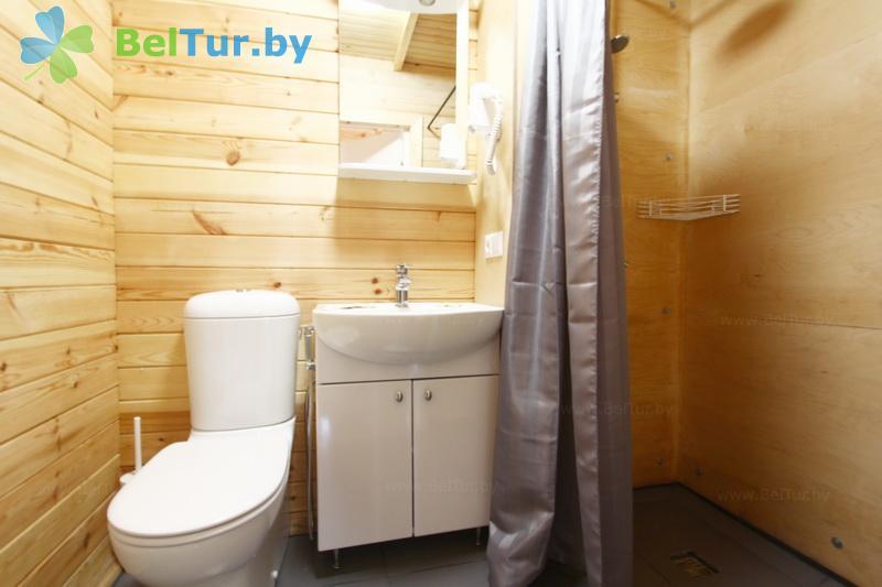 Отдых в Белоруссии Беларуси - туристический комплекс Шишки - двухместный однокомнатный стандарт (коттеджи №1, 2, 3, 4)
