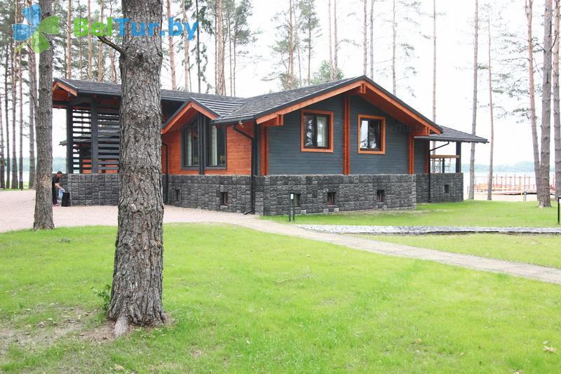 Отдых в Белоруссии Беларуси - туристический комплекс Шишки - ресторан