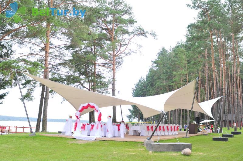 Отдых в Белоруссии Беларуси - туристический комплекс Шишки - Беседка