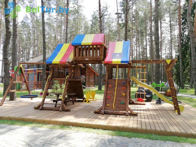 Отдых в Белоруссии Беларуси - туристический комплекс Шишки - Детская площадка