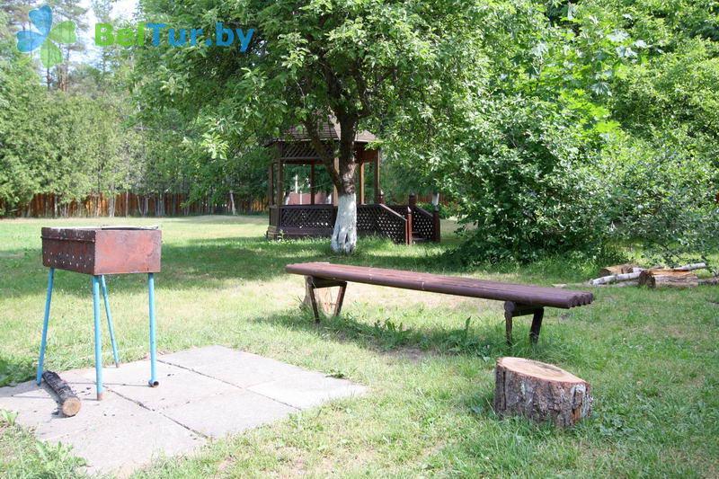 Отдых в Белоруссии Беларуси - гостевой дом Нарочь на Зеленой - Площадка для шашлыков
