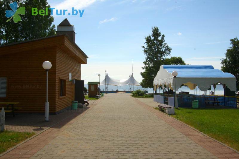 Отдых в Белоруссии Беларуси - гостевой дом Нарочь на Зеленой - Прокат лодок