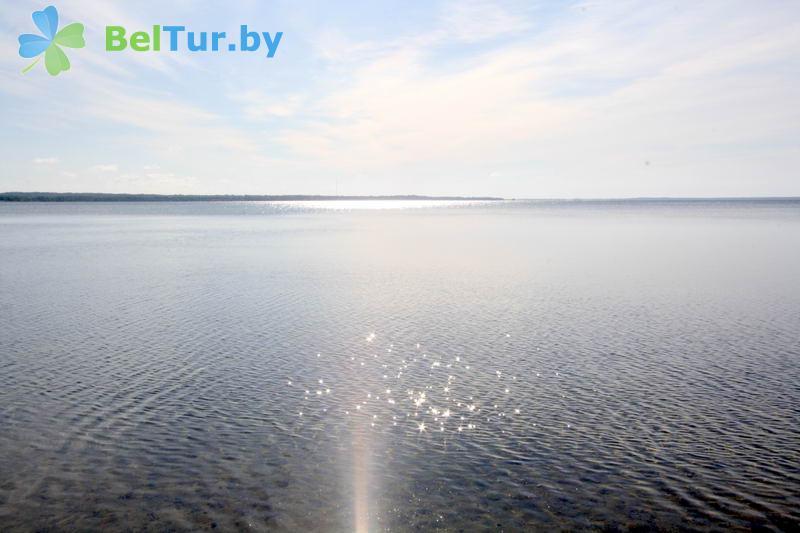 Отдых в Белоруссии Беларуси - гостевой дом Нарочь на Зеленой - Водоём