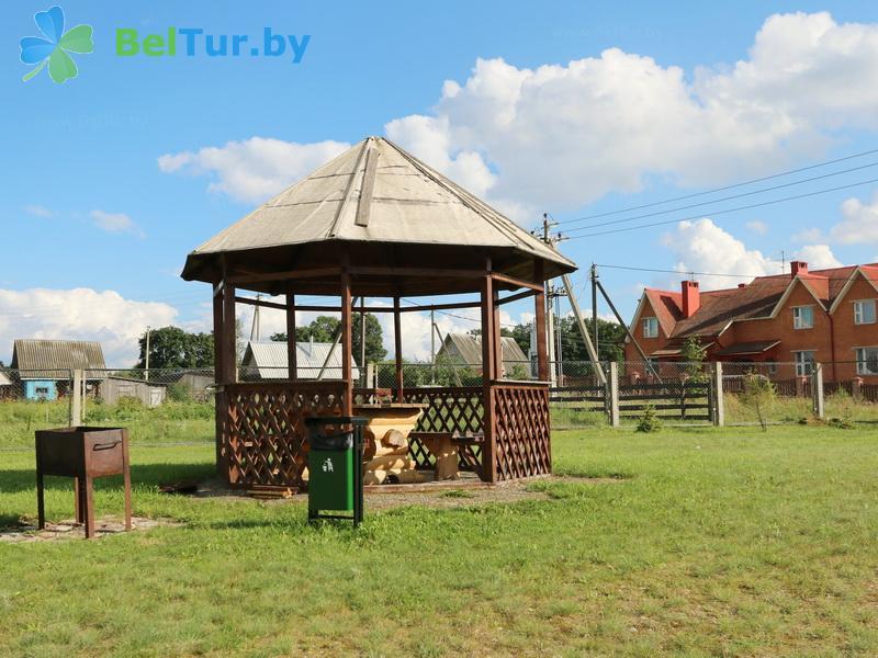 Отдых в Белоруссии Беларуси - гостевой дом Антонисберг - Площадка для шашлыков
