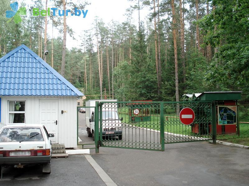 Отдых в Белоруссии Беларуси - оздоровительный комплекс БАТЭ - Парковка