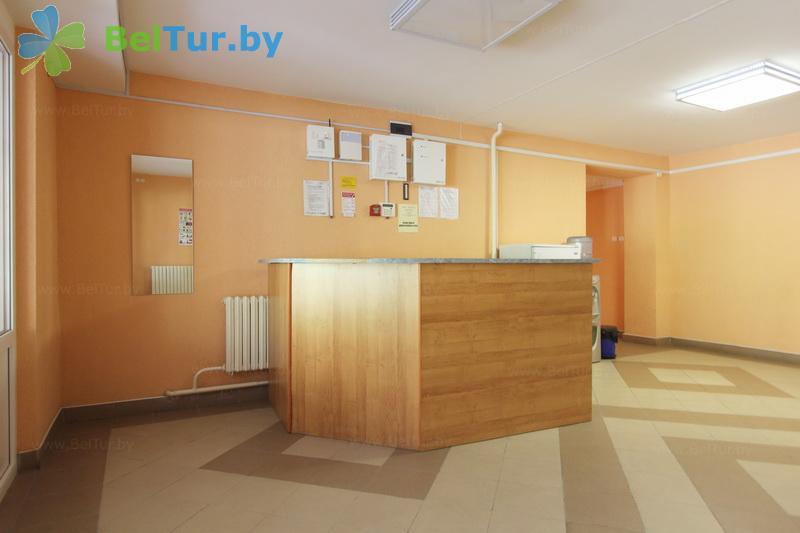 Отдых в Белоруссии Беларуси - оздоровительный комплекс БАТЭ - Регистратура