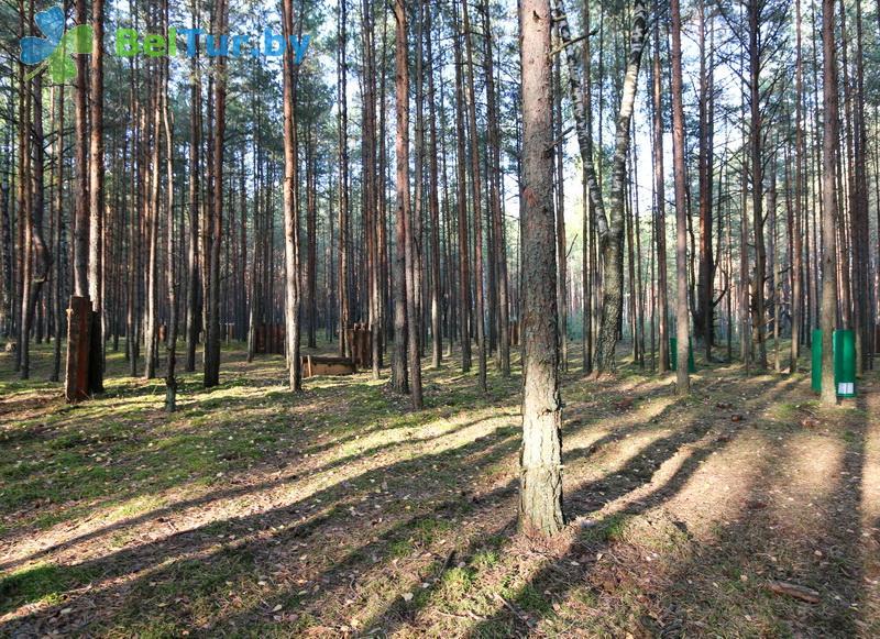 Отдых в Белоруссии Беларуси - кемпинг Клевое место - Лазертаг