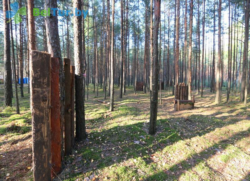 Адпачынак у Беларусі - кемпінг Клевае месца - Лазертаг