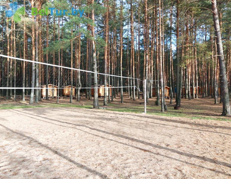 Отдых в Белоруссии Беларуси - кемпинг Клевое место - Спортплощадка